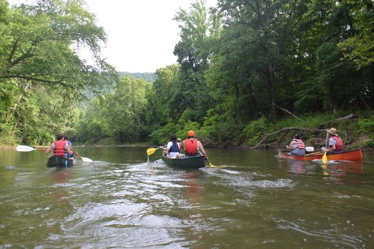 Canoeing the upper Buffalo