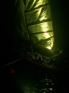 Night Sailing on Lanier