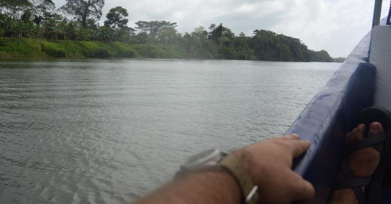 Zipping through the jungle along Rio Escondido